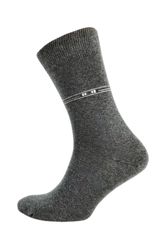ŞİRİN - Şirin Erkek Garson Soket Çorap Anti Bakteriyel Desenli Dikişsiz Parfümlü 38-41 (1)