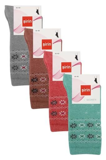 Şirin Kadın Soket Çorap Likralı (12 adet) - Thumbnail