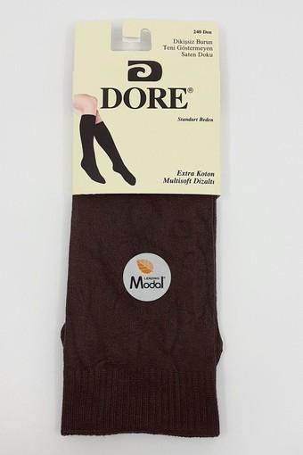SOYLEMEZ - Söylemez Kadın İnce Dizaltı Çorap 240 Denye (12 adet)