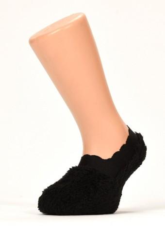 SÖYLEMEZ - Söylemez Kız Çocuk Babet Çorap Peluş (12 adet) (1)