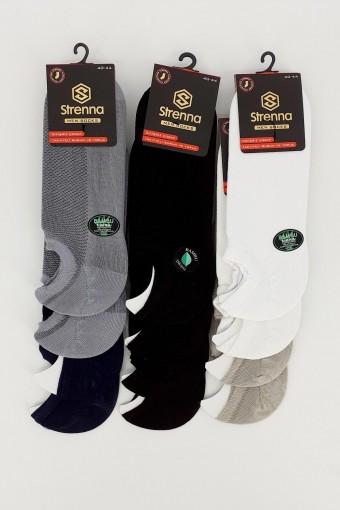 STRENNA - Strenna Erkek Sneaker Çorap Dikişsiz (12 adet)