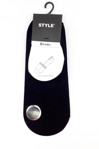 STYLE ÇORAP - Style Erkek Babet Çorap Bambu Düz (12 adet)