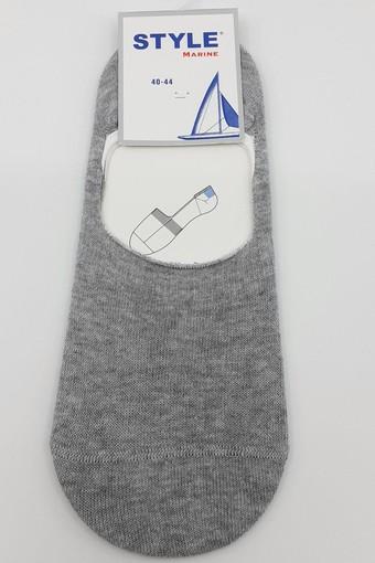 STYLE ÇORAP - Style Erkek Babet Çorap Düz Penye Çetik (12 adet)