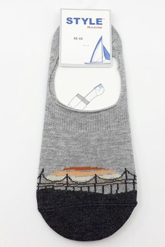 STYLE ÇORAP - Style Erkek Babet Çorap Suba Penye STY8816 (12 adet) (1)