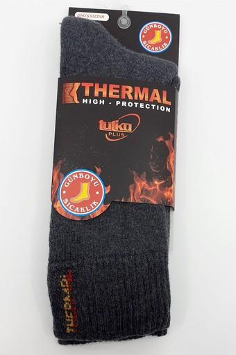 TUTKU ÇORAP - Tutku Erkek Soket Çorap Termal (12 adet)
