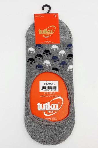 TUTKU - Tutku Kız Çocuk Babet Çorap Görünmez Pati Desen (12 adet) (1)