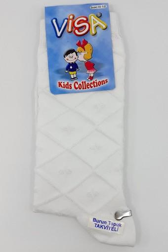 VİSA-ÇİZGİ - Visa-Çizgi Erkek Çocuk Soket Çorap (VISA423)