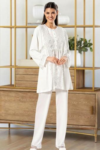 SESKON - X-Ses Kadın Fantezi 3'lü Pijama Takımı