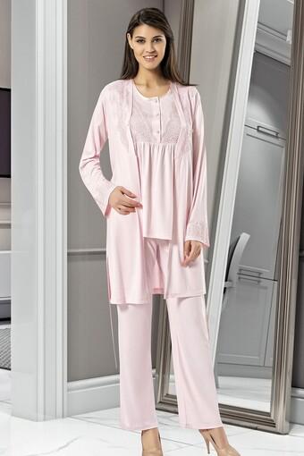 SESKON - X-Ses Kadın Fantezi 3 lü Pijama Takımı (1)