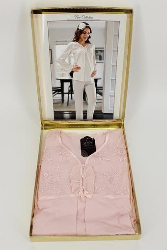 SESKON - X-Ses Kadın Lohusa 2'li Pijama Takımı (SES2340) (1)