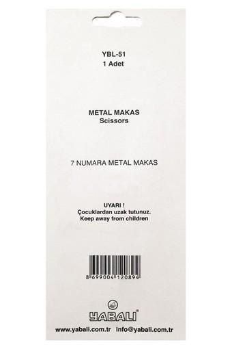 YABALI - Yabalı Makas No:7 Metal Saplı (1)