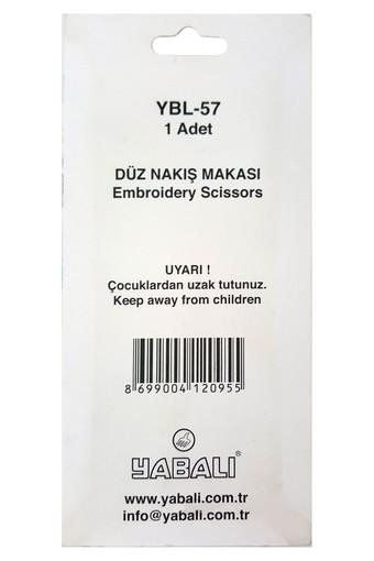 YABALI - Yabalı Nakış Makası Düz (YBL057) (1)