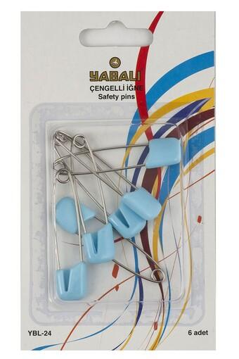 YABALI - Yabalı Unisex Bebek Çengelli İğne Kartı Renkli (1)