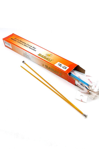 YABALI - Yabalı Unisex Çocuk Örgü Şişi Renkli Metalize (12 adet) (1)