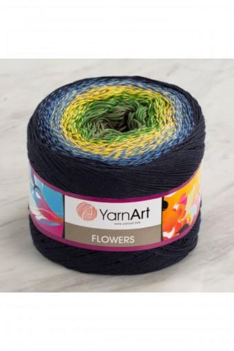 YARNART - Yarnart El Örgü İpi Flowers 250gr